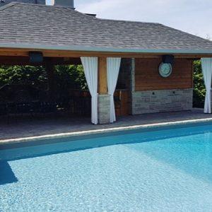 Poolside Drapery